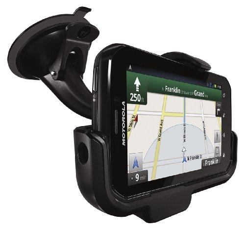 Motorola PHOTON 4G Vehicle Navigation Dock with Rapid Vehicle Charger - Motorola Retail Packaging - Car Kit - Retail Packaging - Black