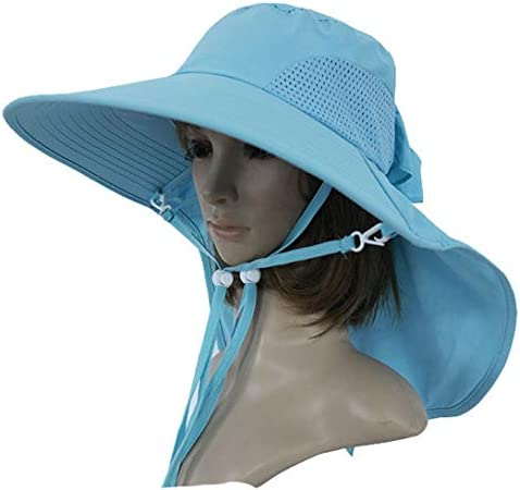 Summer Outdoor Womens Cycling Travelling Hat Sun Hat Fishing Hat Uv Protection Hat Bk019