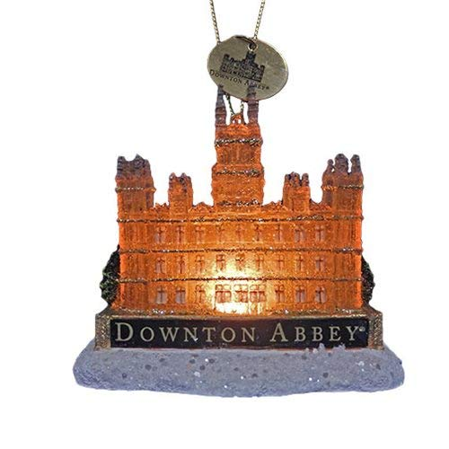 Downton Abbey Light Up Castle