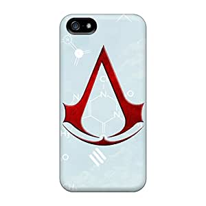 JonathanMaedel Iphone 5/5s Comfortable Phone Hard Cover Provide Private Custom Realistic Assassins Creed Image [UNC7594blyD]
