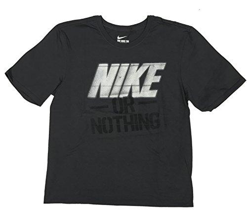 Nike Männer Nike läuft dieses Grafik T-Shirt Nicht-Dk-Grau