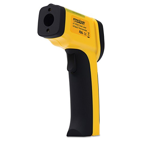Temperature Gun by ennoLogic - Accurate High Temperature Dual Laser Infrared Thermometer -58°F to 1922°F - Digital Surface IR Thermometer eT1050D by ennoLogic (Image #2)