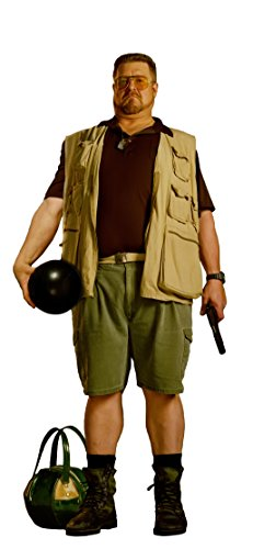 - JOHN GOODMAN WALTER THE BIG LEBOWSKI LIFESIZE CARDBOARD STANDUP STANDEE CUTOUT POSTER FIGURE BOWLING BALL