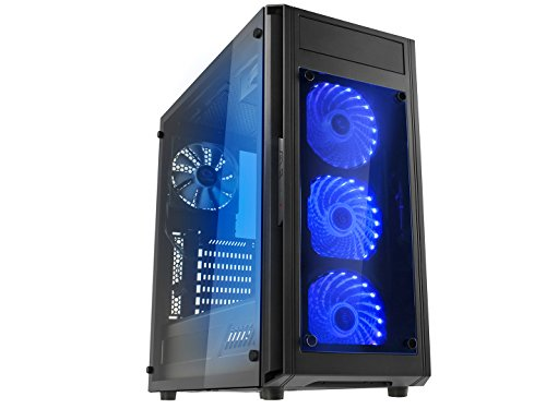 Microtel Computer AM8105 Gaming PC with Liquid Cooling Intel i7 8700k 3.7Ghz,...