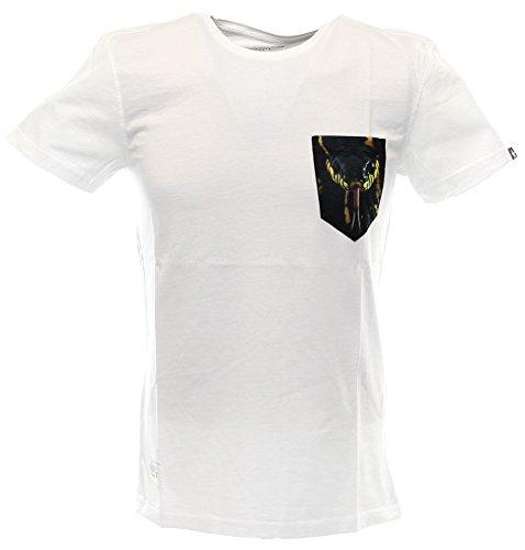 Two Angle T-Shirt Yvenin White-S
