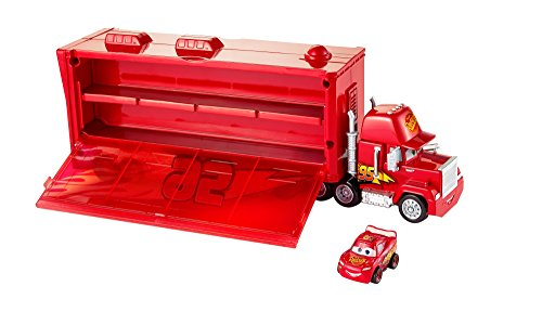 Disney/Pixar Cars Mini Racers Mack Transporter (Toy Transporter Car)