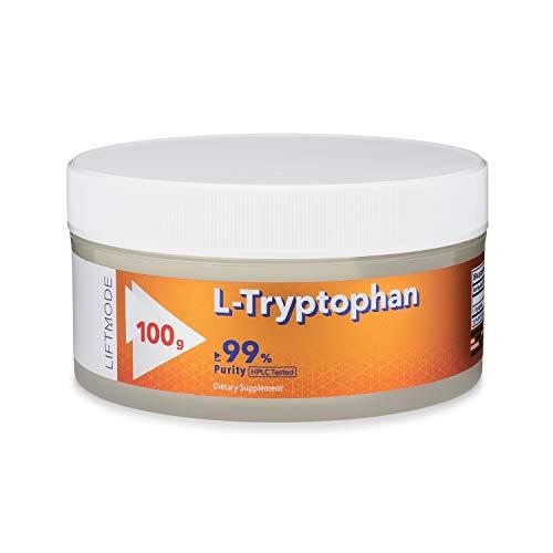 Amazon.com: liftmode L-Triptófano + 99% puro Bulk polvo ...