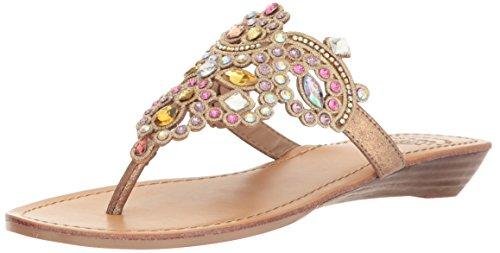 (Yellow Box Women's P-Amee Heeled Sandal Pastel Multi 9.5 Medium US)