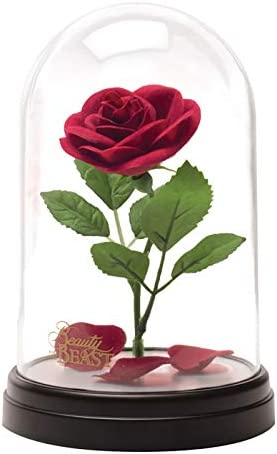 Die Schöne und das Biest Enchanted Rose Light – Offizielles Lizenzprodukt von Disney