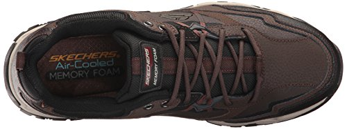 0 2 Shoes Men's Black Brown Skechers Sparta qZwUAwt