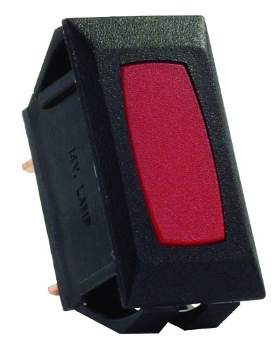 JR Products 12725 Red/Black Indicator Light for Switch