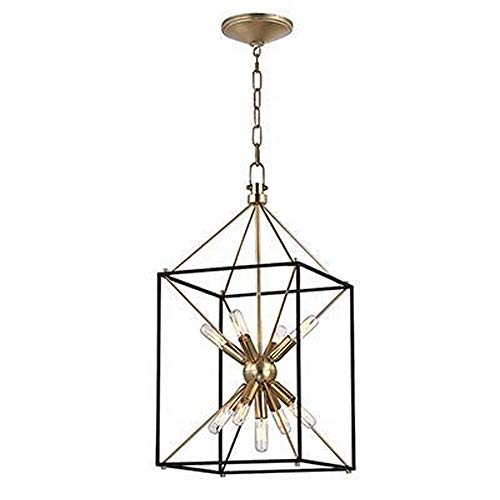 Glendale 9-Light Pendant - Aged Brass Finish