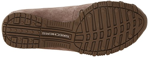 a Pedestrian collo Bikers Skechers basso Scarpe Dark Expressway Donna Brown q5gFxwtx