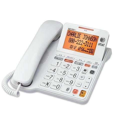 Corded Answering System w/Large Display , Electronics & computer