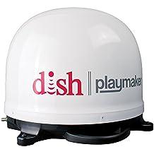 Winegard PL-7000 DISH Playmaker HD Portable Satellite Antenna (RV Portable Satellite Dish, Tailgating Portable Satellite Antenna) - White