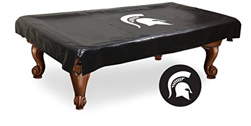 NCAA Michigan State Spartans Billiard Table Cover, 7-Feet - Ncaa Pool Table Cover