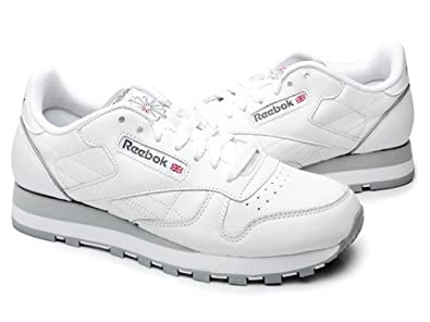 bf2d49a9d21db Amazon.com | Reebok Classic Leather Men's Sneakers Style# 1-101-WHT ...