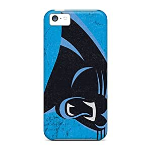 Protection Case For Iphone 5c / Case Cover For Iphone(carolina Panthers)