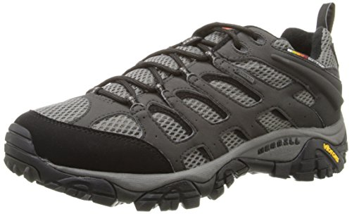 Merrell Men's Moab Gore-Tex Hiking Shoe, Beluga,8 M US ()