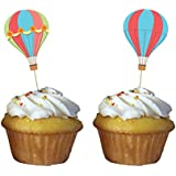 Creative Converting Up, Up & Away Cupcake Picks (12 Count)