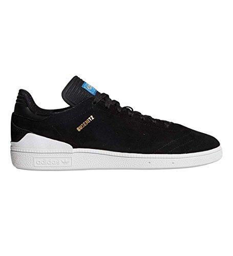 adidas Busenitz RX (Core Black/White/Bluebird) Men's Skate Shoes-11.5