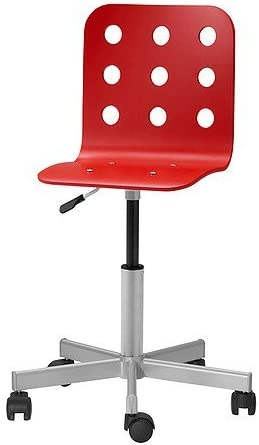 Ikea Jules Chaise De Bureau Junior Rouge Amazon Fr Cuisine Maison