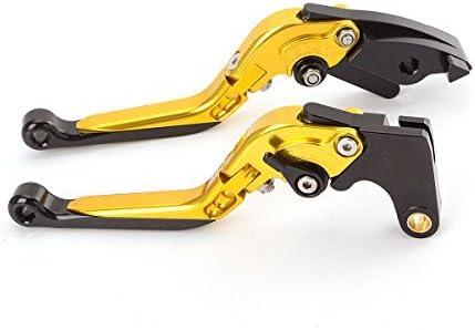Fxcnc Racing Billet Folding Erweiterbar Einstellbare Bremskupplungshebel Set Paar Fit Für Aprilia Tuono R 03 10 Capanord 1200 Rally 14 17 Dorsoduro 1200 11 16 Ducati Ms4 Ms4r 01 06 Gt 1000 06 10 Auto