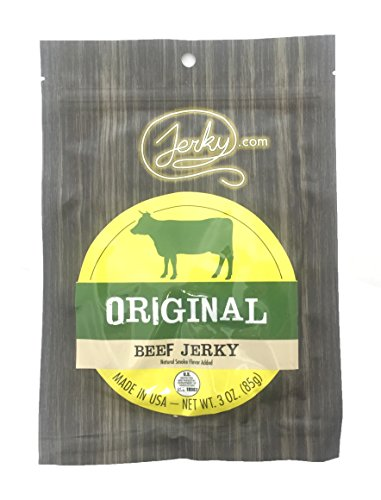 Original All Natural Best Beef Jerky - 3 PACK - Try Our Best Tasting Natural Beef Jerky - No Added Preservatives, No Added MSG or Nitrates, Farm Raised Beef - 9 total oz.