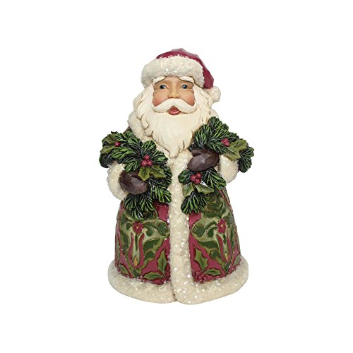 - Enesco Jim Shore Heartwood Creek Victorian Santa with Cane 5