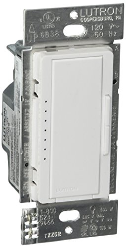 Lutron MACL-153M-WH Maestro 150-Watt Multi-Location CFL/LED Digital Dimmer (4 pack) ()