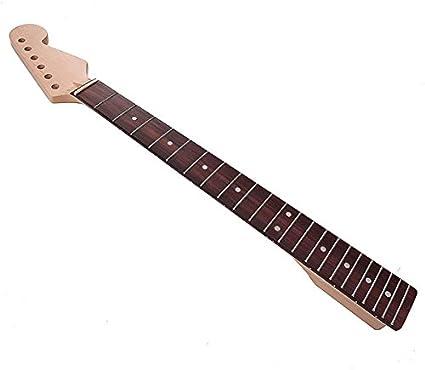 kenthia guitarra eléctrica Cuello Diapasón de madera de arce 23 ...