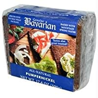 Bavarian Organic Pumpernickel Bread 17.6 Oz