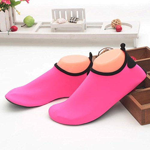 amp;Women Socks Beach Red Shoes Men Comfortable Barefoot Slipper Swim Shoes for So Yoga Home Water FELOVE Snug amp; 1Ax7ZZ
