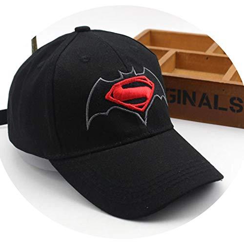 アニメ漫画 スーパーマンバットマン 野球キャップ 子供 スーパーヒーロー ヒップホップ帽子 サンハット 屋外シェードキャップ