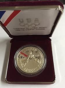 U S Mint 1988 Olympic Coin