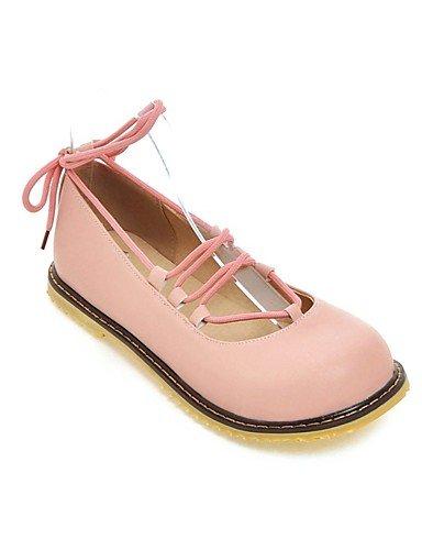piatto de dei us10 scarpe TAC Scarpe rosa di lacci delle oto Casual Textiles ZQ ® con Tal n 5 cn40 O donne rotonda ¨ eu39 uk6 n ® us8 rosa 5 Home ¨ cn43 estivo eu42 di talloni colore punta uk8 5 5 wXAvSqanv