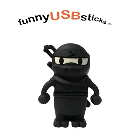 USB Stick Guerrero Ninja 2 GB - 32 GB 16 gb: Amazon.es ...