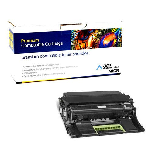 AIM Compatible MICR Replacement for Lexmark MS-310/MX-611 GSA Imaging Unit (60000 Page Yield) (NO. 500Z) (50F0Z0G) - Generic