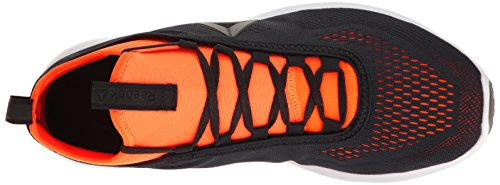 Reebok Mens Plus Runner Tech Scarpa Da Corsa Lead / Wild Orange / White