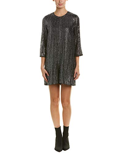 - French Connection Womens Desire Disco Jumper, 0, Metallic