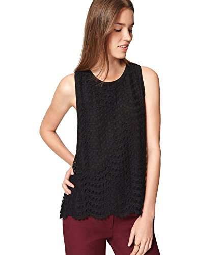 ann-taylor-loft-womens-scalloped-lace-shell-tank-top-small-black