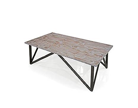 Amazon.com: Armen Living Regis parte superior mesa de centro ...