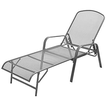 Amazon.com: Festnight - Tumbona de patio y chaise para ...