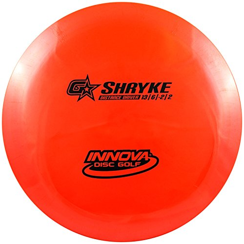 (INNOVA GStar Shryke Distance Driver Golf Disc [Colors May Vary] - 173-175g)
