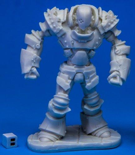 Golem Miniatures - Reaper Miniatures Iron Golem77514 Bones Unpainted RPG D&D Figure