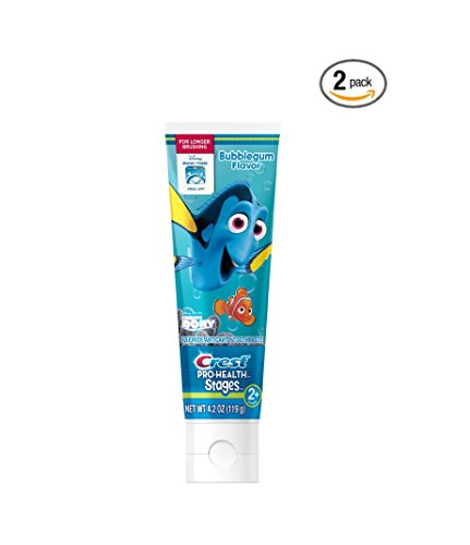 2 Finding (Crest Pro-Health Stages Finding Dory Toothpaste, 4.2 Ounce (pack of 2))