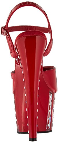 Tacco Col Adore Scarpe Donna red Pat Red 709vlrs Pleaser qSIw6d16
