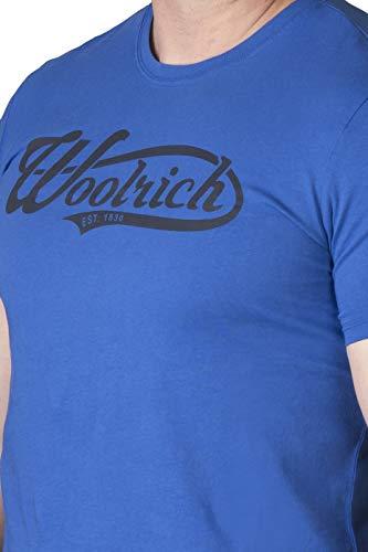 3891a T A Blue true shirt Woolrich Uomo Blu Oq6n80