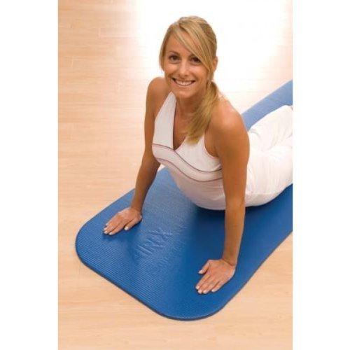 Airex Gymnastikmatten Coronella Yoga & Aerobic Fitness Therapie Badteppich blau 1850 x 600 x 15 mm