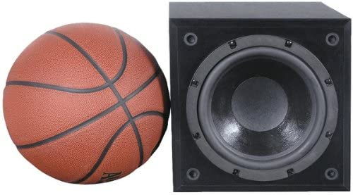 Pinnacle Speakers SUBcompact 300 Watt Powered Subwoofer Black Discontinued by Manufacturer
